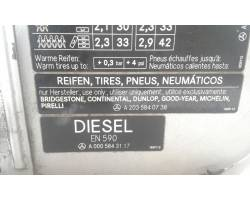 Sportellino Carburante MERCEDES Classe C Berlina W203 2° Serie