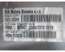 Alzacristallo elettrico ant. SX guida KIA Sportage 3° Serie