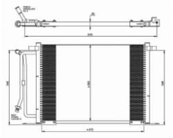 Condensatore FORD Fiesta 2° Serie