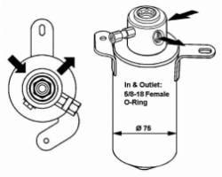 Compressore A/C MERCEDES Classe C Berlina W202 2° Serie