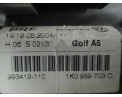 Alzacristallo elettrico post. SX guida VOLKSWAGEN Golf 5 Berlina (03>08)