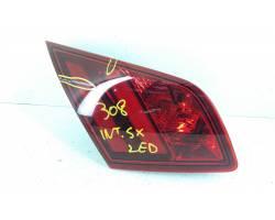 Fanale posteriore SX a LED integrato nel portellone PEUGEOT 308 2° Serie
