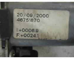 Alzacristallo elettrico ant. DX passeggero ALFA ROMEO 147 1°  Serie