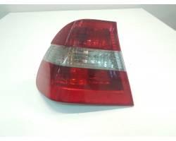 694653501 STOP FANALE POSTERIORE SINISTRO LATO GUIDA BMW Serie 3 E46 Berlina 2° Serie 2000 Diesel 204D4 308.000 Km 110 Kw  (2003) RICAMBI USATI