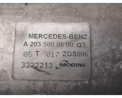 Intercooler MERCEDES Classe C Berlina W203 2° Serie