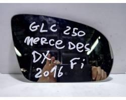 Vetro specchietto retrovisore dx MERCEDES GLC Serie (W253) (15>)