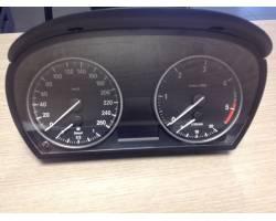 9166846-02  IK916684602Y  1025350-85 QUADRO STRUMENTI BMW Serie 3 E91 Touring 2° Serie Diesel  (2009) RICAMBI USATI