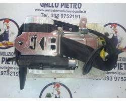 Cintura di Sicurezza anteriore Sinistra con pretensionatore AUDI A6 Avant 4° Serie (4G5)