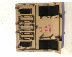 Rivestimento pannello superiore tetto interrutore. BMW X3 1° Serie
