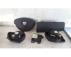 Kit Airbag senza cruscotto DACIA Duster 1° Serie
