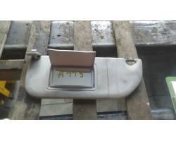 Parasole aletta anteriore Lato Guida CITROEN C3 2° Serie