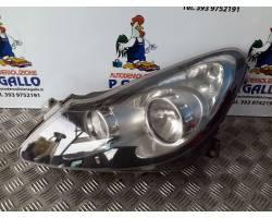 Faro anteriore Sinistro Guida OPEL Corsa D 3P 1° Serie
