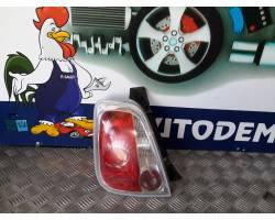 Stop fanale Posteriore sinistro lato Guida FIAT 500 1° Serie
