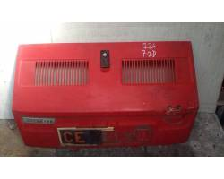 COFANO BAULE POSTERIORE FIAT 126 1° Serie 650 Benzina  (1980) RICAMBI USATI