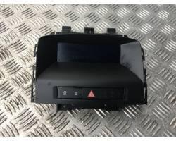 Comando controllo multifunzione OPEL Astra J S. Wagon