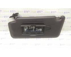 Parasole aletta anteriore Lato Guida MERCEDES Classe B W246 2° Serie