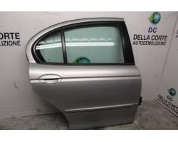 PORTIERA POSTERIORE DESTRA JAGUAR X-Type  Serie 2000 Diesel  (2004) RICAMBI USATI