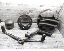 CARTER MOTORE MOTO GUZZI Lodola 175cc (56>66) Benzina  (1956) RICAMBI USATI