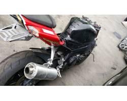 MARMITTA COMPLETA DI TERMINALE SCARICO SUZUKI GSR 600 600 cc 600 Benzina  (2007) RICAMBI USATI