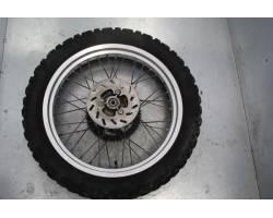 RUOTA POSTERIORE Senda Derbi 50cc (01) 50 Benzina  (2001) RICAMBI USATI
