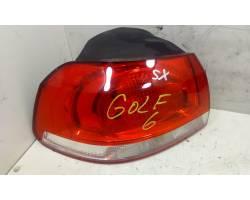 Stop fanale Posteriore sinistro lato Guida VOLKSWAGEN Golf 6 Berlina (08>12)