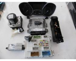 bv6112a650nd KIT CENTRALINA MOTORE FORD Focus Berlina 5° Serie 1600 Diesel t1db (2011) RICAMBI USATI