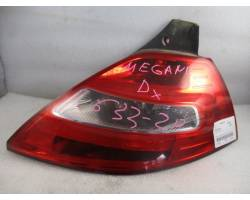 Stop fanale posteriore Destro Passeggero RENAULT Megane ll Serie (06>08)