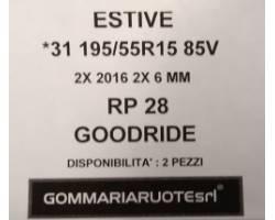 GOMME ESTIVE USATE GOODRIDE 195/55 R15 1955515 195 55 15 195/55 R15 PNEUMATICI USATI