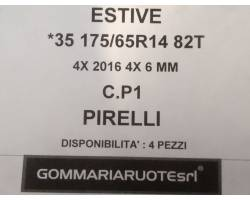 GOMME ESTIVE USATE PIRELLI 175/65 R14 1756514 175 65 14 175/65 R14 PNEUMATICI USATI