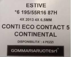 GOMME ESTIVE USATE ACCELERA 195/55 R16 1955516 195 55 16 195/55R16 PNEUMATICI USATI
