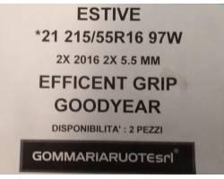 GOMME ESTIVE USATE GOODYEAR 215/55 R16 2155516 215 55 16 215/55 R16 PNEUMATICI USATI