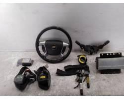 Kit Airbag Completo CHEVROLET Captiva 1° Serie