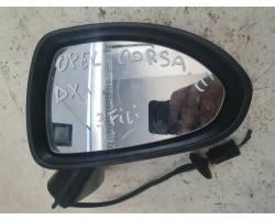 Specchietto Retrovisore Destro OPEL Corsa E 3° Serie