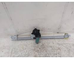 Meccanismo alza vetro Ant. DX RENAULT Trafic Combi 2° Serie