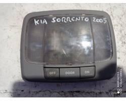 Plafoniera posteriore KIA Sorento 1° Serie