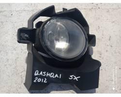 Fendinebbia anteriore SX NISSAN Qashqai 2° Serie