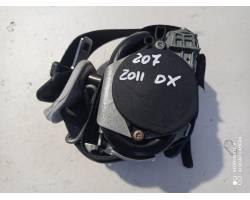 Cintura di Sicurezza anteriore Destra con pretensionatore PEUGEOT 207 2° Serie