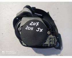 Cintura di Sicurezza anteriore Sinistra con pretensionatore PEUGEOT 207 2° Serie