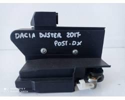 Serratura Posteriore destra DACIA Duster Serie