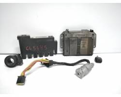 7700112764 KIT CENTRALINA MOTORE RENAULT Clio Serie (94>98) 1998 1149 Benzina D4F D7 RICAMBI USATI