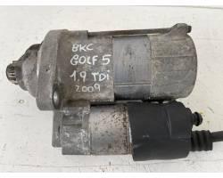 Motorino d' avviamento VOLKSWAGEN Golf 5 Berlina (03>08)