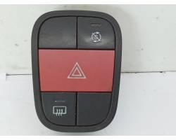 Pulsante luci di emergenza FIAT Qubo 1° Serie