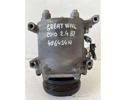 AKC201A569A COMPRESSORE A/C GREAT WALL MOTOR Hover Serie (06>) 2400 Benzina 4G64S4N (2010) RICAMBI USATI