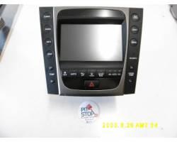 86111-30390 NAVIGATORE LEXUS GS 300 Serie Benzina (2007) RICAMBI USATI