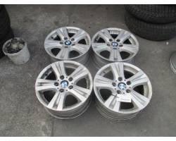 4 CERCHI IN LEGA BMW Serie 1 E87 2° Serie Benzina (2009) RICAMBI USATI