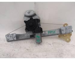 Meccanismo alzavetro Post. DX RENAULT Clio Serie IV (12>19)