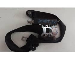 Cintura di sicurezza anteriore sinistra SMART Fortwo Coupé 3° Serie (w 451)
