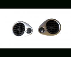 Bocchette aria cruscotto DX e SX RENAULT Clio Serie (04>08)
