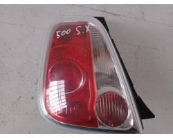Stop fanale Posteriore sinistro lato Guida FIAT 500 Serie