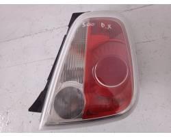 Stop fanale posteriore Destro Passeggero FIAT 500 Serie